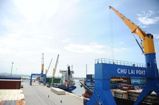 Cảng Chu Lai vừa được nâng cấp, mở rộng