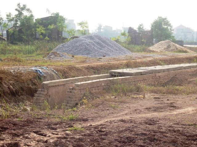 Cơ sở hạ tầng ngổn ngang của hai mặt bằng TĐC trên địa bàn TP Thanh Hóa
