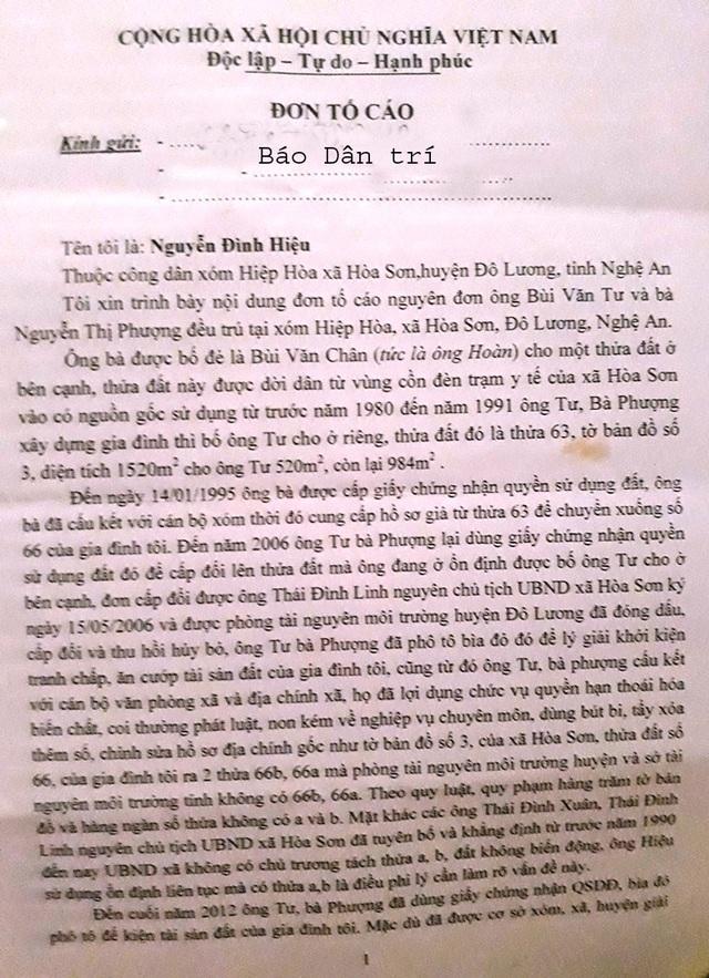 Nghệ An: Gia đình chính sách suýt mất nhà vì một cuốn sổ đỏ kỳ quặc! - 1