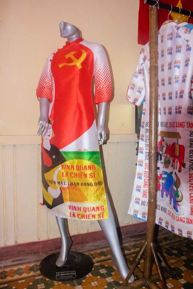 Nhiều bộ sưu tập áo dài độc đáo được trưng bày tại không gian triển lãm