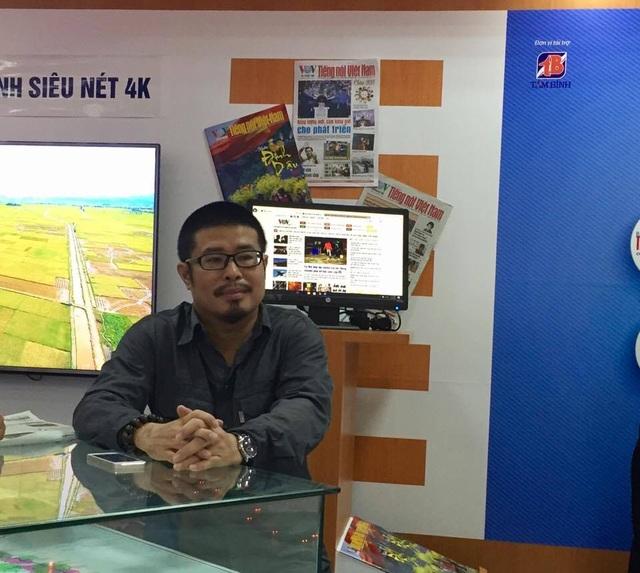 Nhà báo Trần Nhật Minh - Phó Giám đốc hệ Văn hóa - đời sống khoa giáo VOV2, Thường vụ LCH Hội Nhà báo Đài Tiếng Nói Việt Nam.