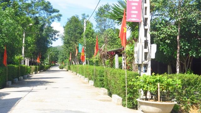 Đường nội thôn Khu dân cư kiểu mẫu cấp tỉnh thôn Nam Trà, xã Hương Trà, huyện Hương Khê