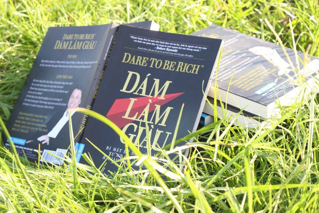"""Cuốn sách """"Dám làm giàu"""""""