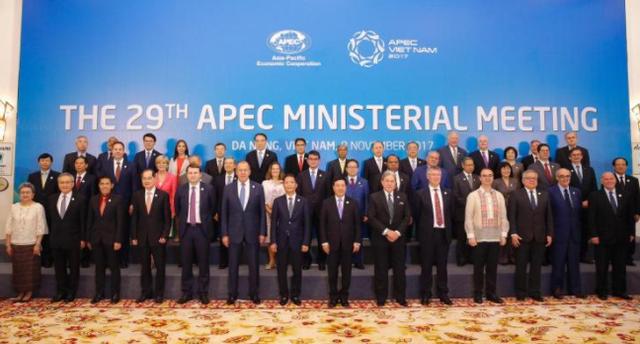 Các Bộ trưởng APEC nhất trí đối phó chủ nghĩa bảo hộ. (Ảnh: CBC)