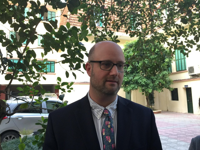 Ông Adam Sitkoff, Giám đốc Điều hành, Hiệp hội Thương mại Hoa Kỳ tại Hà Nội (AmCham)