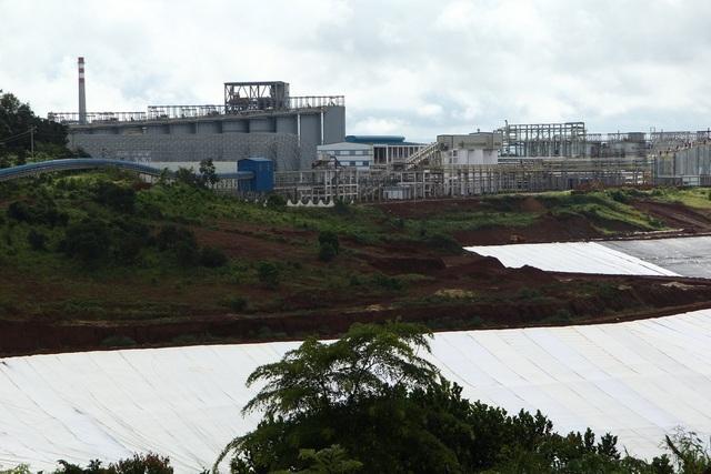Nhà máy alumin Nhân Cơ lý giải nguyên nhân bụi alumin phát tán ra môi trường.