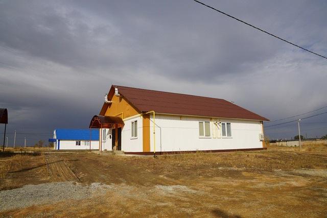 Các ngôi nhà ở được sản xuất với chi phí thấp nhưng đảm bảo chất lượng