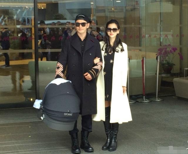 Cặp sao nổi tiếng của làng giải trí Hoa ngữ trông vô cùng sành điệu và đẹp đôi.
