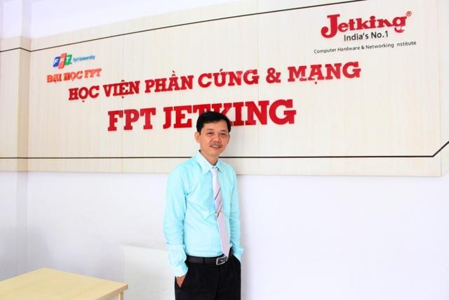 Ông Dương Trọng Phú Sơn, Giám đốc đào tạo - Viện Đào Tạo Quốc Tế FPT.