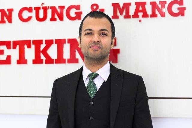 Ông Harsh Bharwani - Phó Chủ tịch Học viện Jetking.