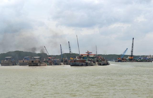 Hiện tất cả các dự án nạo vét luồng tận thu cát trên địa bàn tỉnh Đồng Nai đều đã ngưng hoạt động