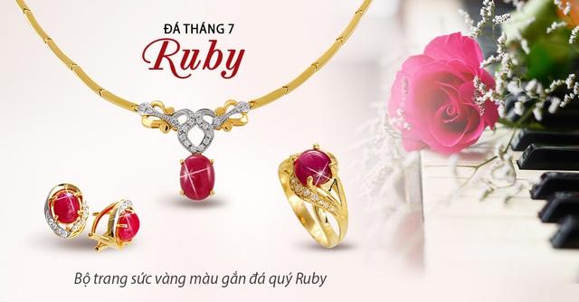 May mắn rực rỡ cùng ngọc quý Ruby - 1