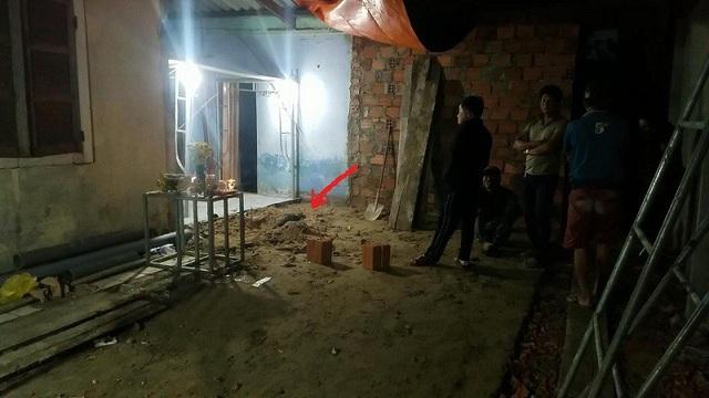 Căn nhà nơi phát hiện thi thể nạn nhân