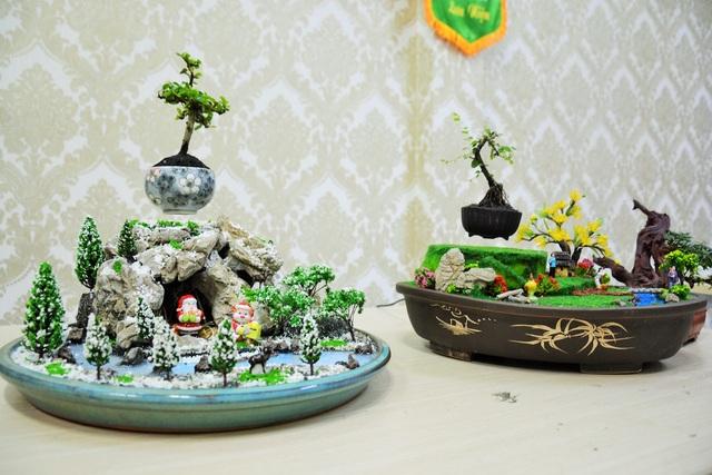 Những chậu bonsai bay với thiết kế sáng tạo mang đậm bản sắc Việt