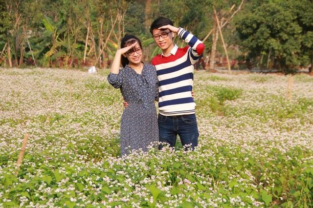 Vườn tam giác mạch Ninh Bình hút bạn trẻ dịp lễ Tình nhân - 6