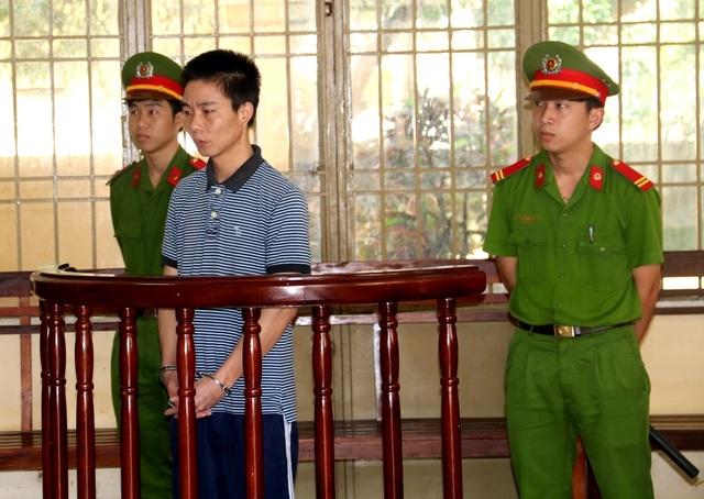 Bị cáo Trương Vĩnh Quốc tại phiên tòa