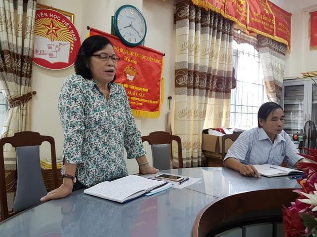 Bà Phạm Thị Minh Chiến – Chủ tịch Hội Khuyến học Quảng Nam nhiệm kỳ 2012-2017