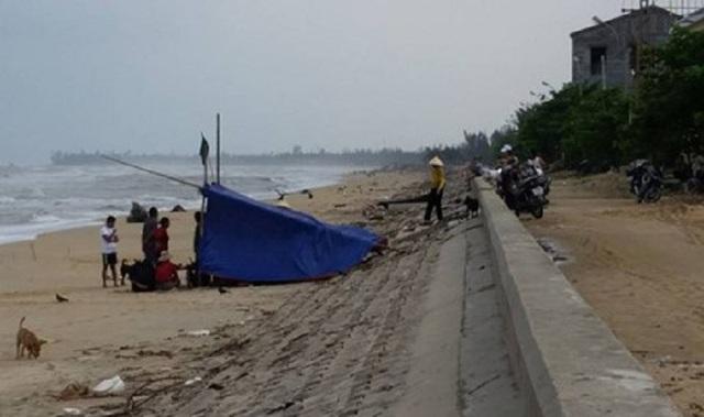 Thi thể ngư dân xấu số đã được tìm thấy sau 2 ngày mất tích