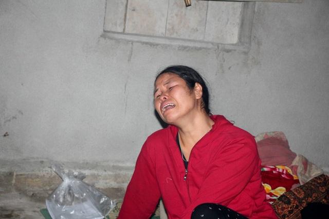 Chị Hà Thị Kim đau đớn tột cùng trước cái chết của con gái
