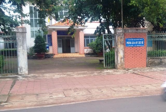 Phòng GD-ĐT nơi trước đó ông Nguyên công tác.