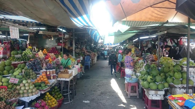 Các chợ truyền thống sức mua chưa có đột biến