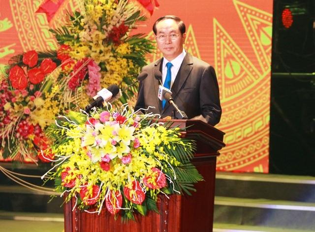 Chủ tịch nước Trần Đại Quang nêu rõ, Ninh Bình cần chú trọng phát triển du lịch bền vững.