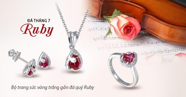 May mắn rực rỡ cùng ngọc quý Ruby - 2