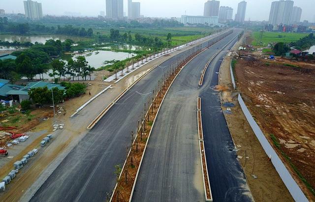 Con đường 60m2 nối từ Nguyễn Xiển chạy thẳng về Phan Trọng Tuệ - đường 70 sẽ hoàn thành cuối năm 2017