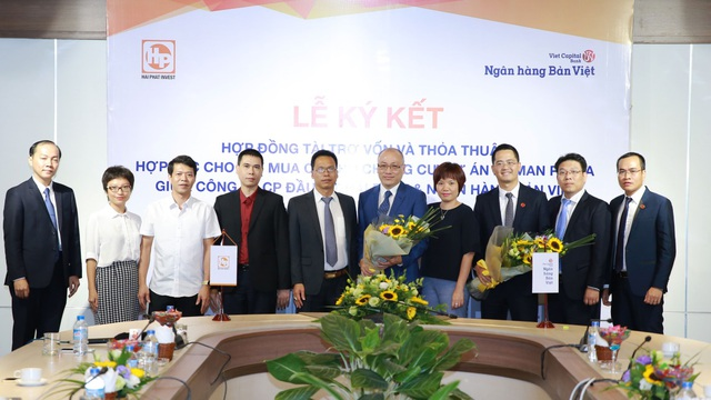 Ngân hàng TMCP Bản Việt tài trợ vốn cho phần cao tầng của Dự án Roman Plaza