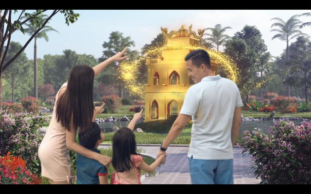 Ra mắt căn hộ thực tế dự án dát vàng Hòa Bình Green Đà Nẵng - 3