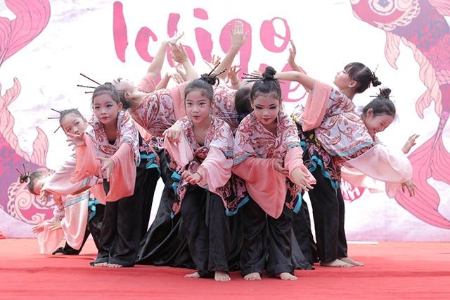 """""""Vũ công nhí"""" cuốn hút trong điệu múa Nhật Bản - 3"""