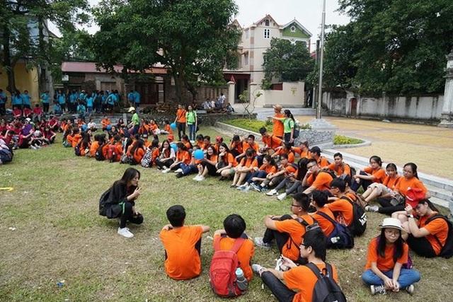 Học sinh thích thú với giờ thực hành môn Văn học tại Cổ Loa - 8