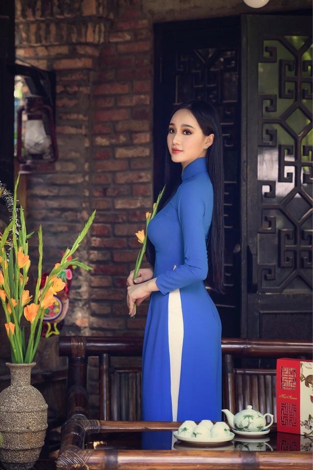 """""""Bản sao"""" Hoa hậu Giáng My hé lộ ý định thi Hoa hậu Việt Nam - 8"""