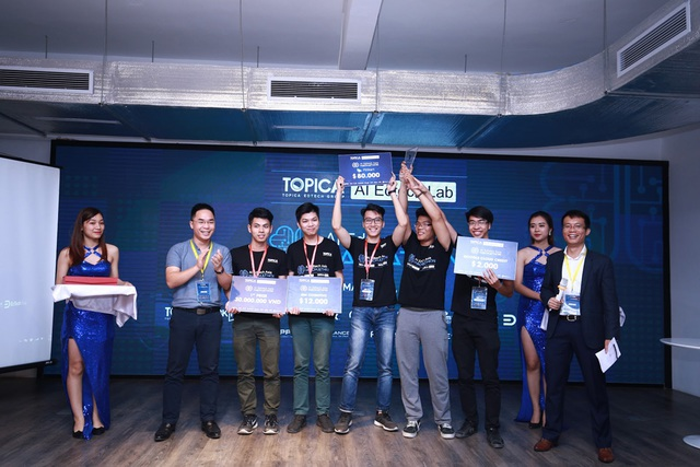 Đội Nguyễn Hiền giành được giải Nhất của cuộc thi.