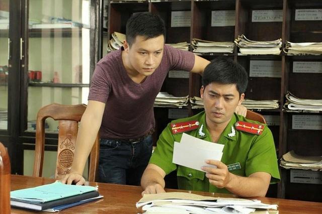Bảo Anh được xem là chiến sỹ công an đẹp trai nhất màn ảnh Việt. Ảnh: tL.