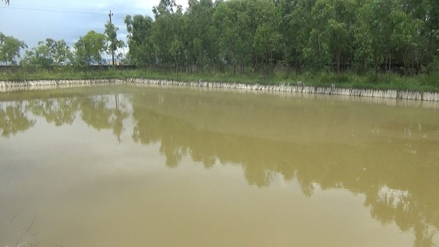 Hồ chứa nước thải của Nhà máy Tấm lợp Fibrocement Cosevco