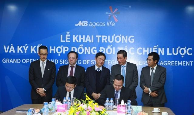 Công ty TNHH Bảo hiểm nhân thọ MB Ageas chính thức khai trương và công bố thương hiệu - 2