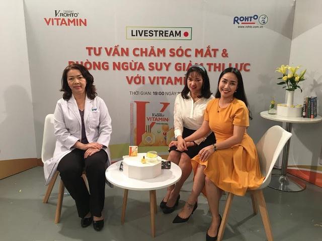 Bác sĩ Mai, Dược sĩ Ngọc Thu & MC – Diễn viên Ốc Thanh Vân