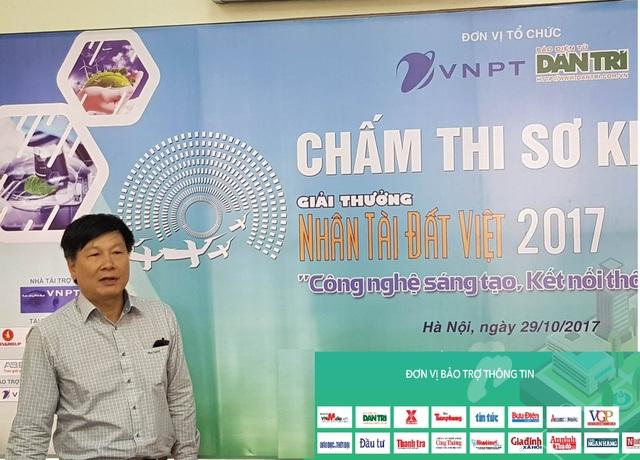 Ông Đinh Minh Sơn – Thường trực Ban tổ chức Giải thưởng NTĐV 2017.