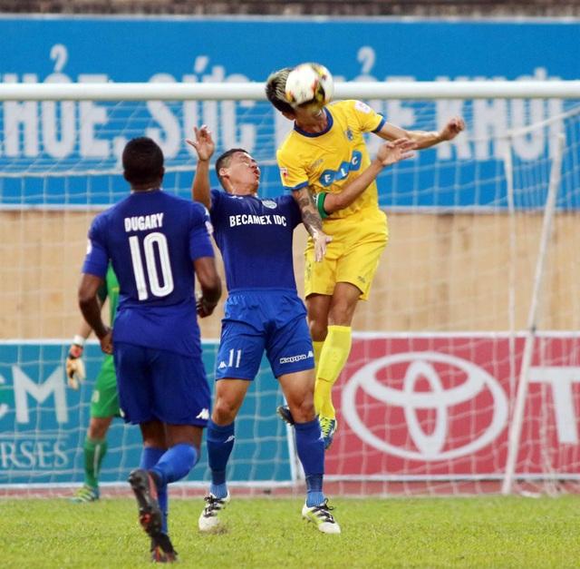 FLC Thanh Hóa còn quá ít cơ hội để vô địch V-League - Ảnh: Gia Hưng