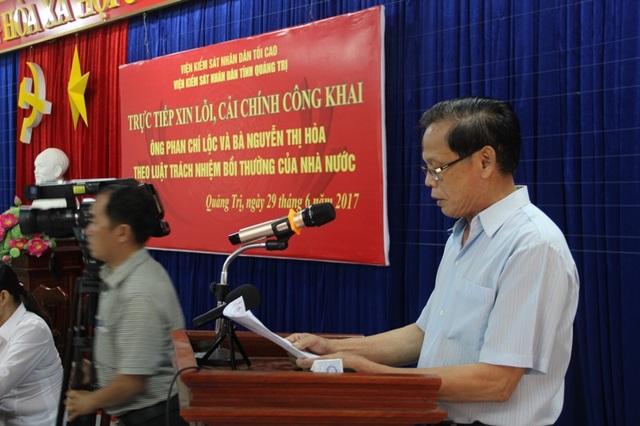 Ông Lộc nói về những khó khăn của gia đình khi bị khép tội oan