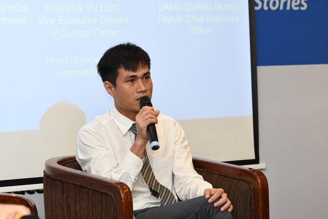 """Ông Đặng Quang Hùng - Tổng giám đốc hệ thống giáo dục trực tuyến HOCMAI: Với Workplace, công việc được xử lý nhanh gọn và hiệu quả hơn thay vì sử dụng các phương tiện khác"""""""