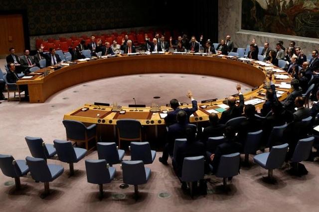 Hội đồng bảo an biểu quyết thông qua lệnh trừng phạt mới đối với Triều Tiên ngày 2/6 sau các vụ thử tên lửa liên tiếp của Bình Nhưỡng. (Ảnh: Reuters)