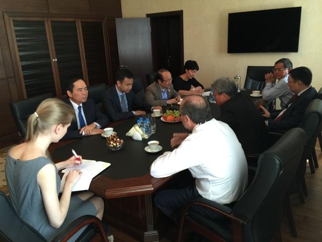 Lãnh đạo Petrovietnam tháp tùng Chủ tịch Nước thăm chính thức Liên bang Nga - 2