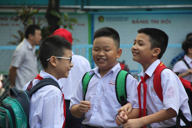3 tuần sau ngày nhập học, tất cả các trường ở TPHCM sẽ khai giảng vào ngày 5/9