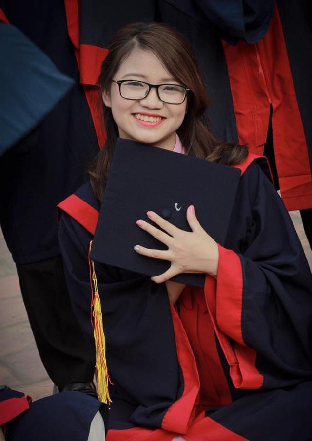 Huyền Trang vừa tốt nghiệp ngành An toàn Thông tin, Học viện Mật mã