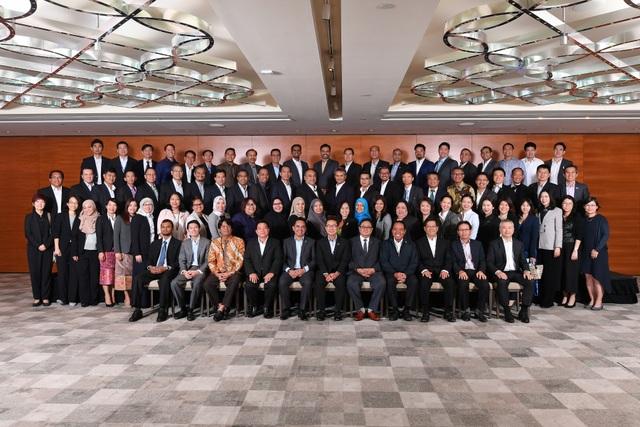 Đại biểu 10 nước thành viên ASCOPE tại Kỳ họp