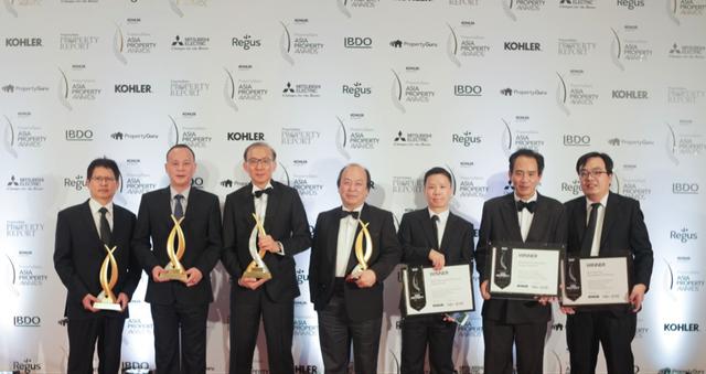 ParkCity Hanoi đã có một năm bội thu về giải thưởng bất động sản