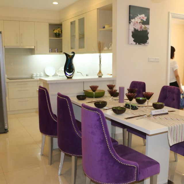 Căn hộ Oriental Westlake thiết kế tinh tế, nội thất sang trọng