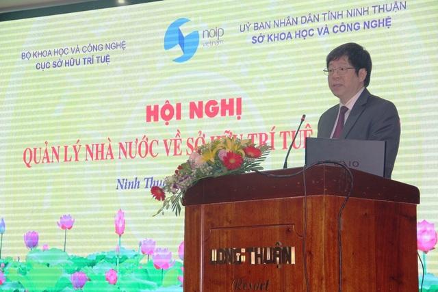 Thứ trưởng Bộ KH&CN Trần Quốc Khánh.